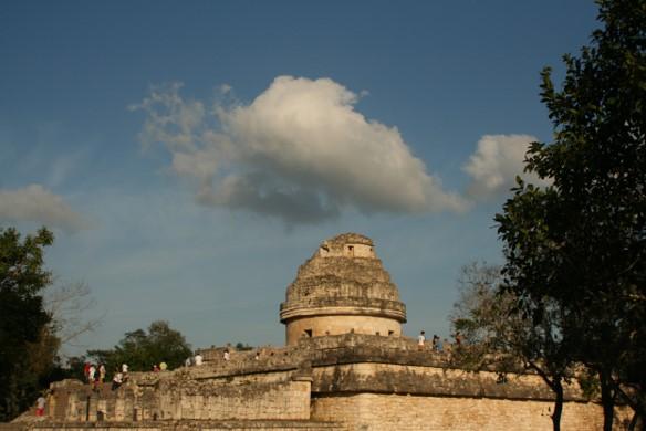 Imagen 9: El Caracol. Observatorio, Fuente. Juan Carlos Mansur.